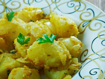 Cumin Seed Potatoes . Royalty Free Stock Images