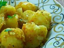 Cumin Seed Potatoes . Stock Photography