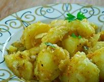 Cumin Seed Potatoes . Stock Image