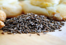 Cumin seeds. Cumin is the second most popular spice in the world after black pepper. Cumin seeds are used as a spice for their distinctive aroma. Cumin can be Royalty Free Stock Image
