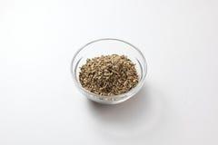 Cumin Seeds. A bowl of cumin seeds Royalty Free Stock Photo