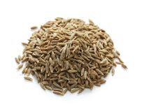 Cumin seeds , indian spice Royalty Free Stock Photography
