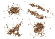 Cumin seeds isolated on white background Stock Photo