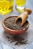 Cumin seeds Stock Image