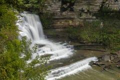 Cummins faller vattenfallet royaltyfria foton