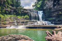 Cummins Falls In Cookeville, TN Stock Images