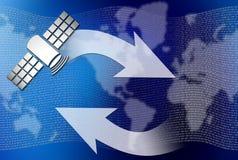 Cummunication sattelite Stock Image