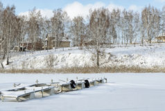 Cumować dla motorowych łodzi Zdjęcie Stock