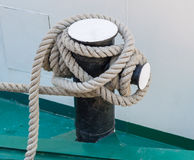 Cumownica łódź Fotografia Royalty Free