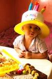 ¡Cumpleaños! Foto de archivo libre de regalías