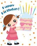 Cumpleaños stock de ilustración