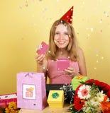 Cumpleaños de la celebración Fotos de archivo libres de regalías