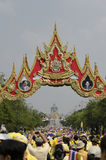 Cumpleaños de la celebración de rey Thailand Imagen de archivo