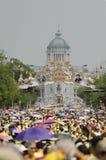 Cumpleaños de la celebración de rey Thailand Fotografía de archivo libre de regalías