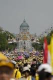 Cumpleaños de la celebración de rey Thailand Imagen de archivo libre de regalías