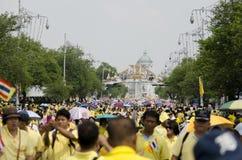 Cumpleaños de la celebración de rey Thailand Imágenes de archivo libres de regalías