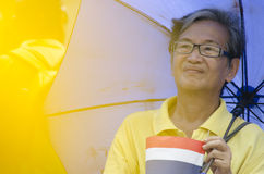 Cumpleaños de la celebración de rey Thailand Foto de archivo