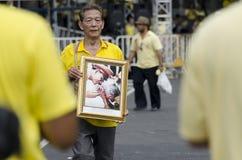 Cumpleaños de la celebración de rey Thailand Fotos de archivo