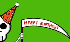 Cumpleaños de la muerte Foto de archivo libre de regalías