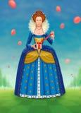 Cumpleaños de la reina imagen de archivo