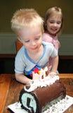 Cumpleaños de Little Boy fotos de archivo libres de regalías