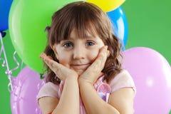 Cumpleaños de los niños Imagen de archivo libre de regalías