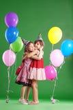 Cumpleaños de los niños Foto de archivo libre de regalías