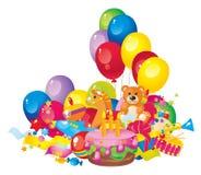 Cumpleaños de los niños Foto de archivo