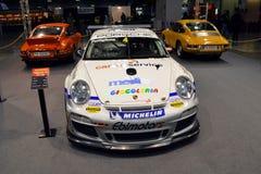 Cumpleaños de Porsche 911's Foto de archivo libre de regalías