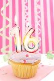 Cumpleaños del adolescente Fotografía de archivo