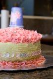 Cumpleaños rosado Fotos de archivo libres de regalías