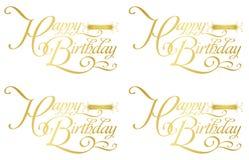 Cumpleaños-zodiaco feliz Fotos de archivo libres de regalías