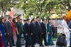 Cumpleaños de Ho Chi Minhs, día festivo de Vietnam, Ho Chi Minh Ci Foto de archivo libre de regalías