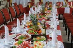 Cumpleaños del banquete Fotografía de archivo libre de regalías