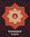 Cumprimento de Brown ramadan Fotografia de Stock