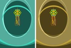 Cumprimento de Diwali Imagens de Stock Royalty Free