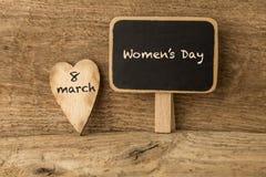 Cumprimento do dia das mulheres Imagens de Stock Royalty Free