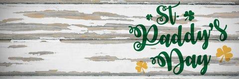 Cumprimento do dia do St Patricks ilustração royalty free