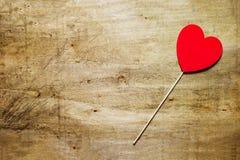 Cumprimento do dia do St Valentine's Fotos de Stock