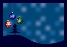 Cumprimento do Natal Fotografia de Stock