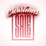 Cumprimento do Natal Fotos de Stock Royalty Free