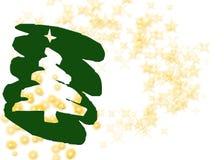 Cumprimento do Natal do divertimento Imagens de Stock Royalty Free