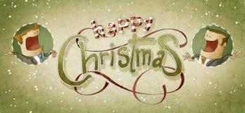 Cumprimento do Natal do negócio Fotografia de Stock Royalty Free