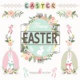 Cumprimento feliz de Easter ilustração do vetor