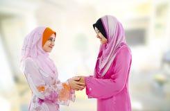 Cumprimento muçulmano Imagem de Stock Royalty Free