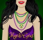 Cumprimentos do carnaval ilustração royalty free