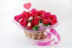 Cumprimentos do coração Imagem de Stock Royalty Free