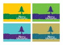Cumprimentos do Feliz Natal Fotografia de Stock Royalty Free