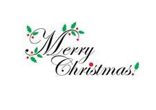 Cumprimentos do Natal Imagens de Stock Royalty Free