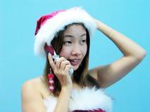 Cumprimentos do Natal! foto de stock royalty free